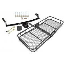 Trailer Tow Hitch For 01-06 Hyundai Santa Fe Basket Cargo Carrier Platform Hitch Lock and Cover