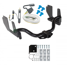 Trailer Tow Hitch For 04-05 Ford F-150 06 Lincoln Mark LT w/ Wiring Harness Kit