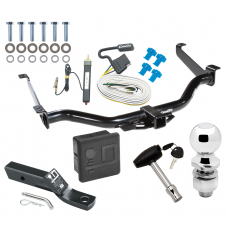 """Trailer Tow Hitch For 04-15 Nissan Titan Deluxe Package Wiring 2"""" Ball and Lock"""