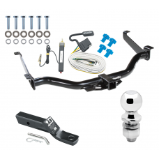 """Trailer Tow Hitch For 04-15 Nissan Titan Complete Package w/ Wiring and 2"""" Ball"""