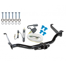 Trailer Tow Hitch For 04-15 Nissan Titan w/ Wiring Harness Kit