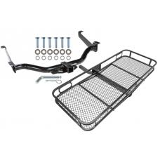Trailer Tow Hitch For 04-15 Nissan Titan All Styles Basket Cargo Carrier Platform w/ Hitch Pin