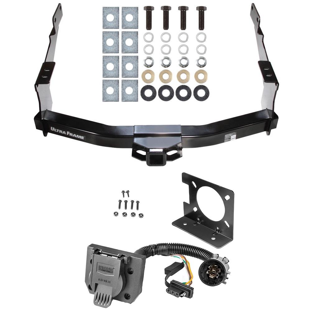 class 5 trailer hitch w/ wiring kit for 07-19 toyota tundra w/ factory  7-way pin