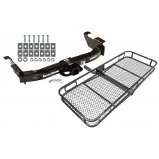Trailer Tow Hitch For 00-14 Ford E-150 E-250 E-350 Econoline Basket Cargo Carrier Platform w/ Hitch Pin