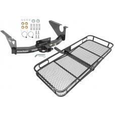 Trailer Tow Hitch For 11-18 RAM 1500 2019 Classic Basket Cargo Carrier Platform w/ Hitch Pin