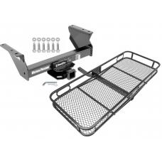 Trailer Tow Hitch For 13-17 RAM 4500 5500 Cab & Chassis Basket Cargo Carrier Platform w/ Hitch Pin