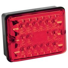 Bargman LED Single Stop-Tail-Turn Trailer Taillight 86 Series w/ Black Base RV