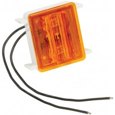 Bargman LED Wrap-Around Side Marker Clearance Trailer Light 86 Series Upgrade Module Amber RV