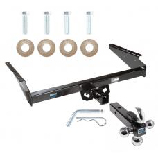 "Reese Trailer Tow Hitch Receiver For 90-05 Chevy Astro GMC Safari w/Tri-Ball Triple Ball 1-7/8"" 2"" 2-5/16"""