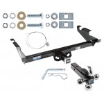 "Reese Trailer Tow Hitch Receiver For 78-96 Chevy G10 G20 G30 GMC G1500 G2500 G3500 w/Tri-Ball Triple Ball 1-7/8"" 2"" 2-5/16"""