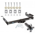 "Reese Trailer Tow Hitch Receiver For 96-19 Chevy Express GMC Savana Van w/Tri-Ball Triple Ball 1-7/8"" 2"" 2-5/16"""