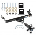 "Reese Trailer Tow Hitch Receiver For 95-04 Toyota Tacoma w/Tri-Ball Triple Ball 1-7/8"" 2"" 2-5/16"""