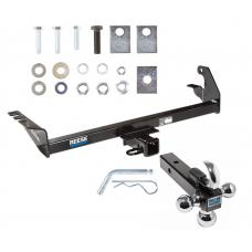"Reese Trailer Tow Hitch Receiver For 87-04 Dodge Dakota w/Tri-Ball Triple Ball 1-7/8"" 2"" 2-5/16"""
