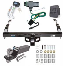 "Reese Trailer Tow Hitch For 88-00 Chevy GMC C1500 C2500 C3500 K1500 K2500 K3500 PKG Deluxe Package w/ Wiring 2"" Ball and Lock"