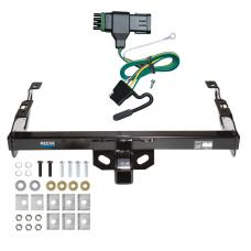 Reese Trailer Tow Hitch For 88-00 Chevy GMC C1500 C2500 C3500 K1500 K2500 K3500 w/ Wiring Harness Kit