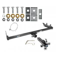 "Reese Trailer Tow Hitch Receiver For 04-07 Ford Freestar Mercury Mountaineer w/Tri-Ball Triple Ball 1-7/8"" 2"" 2-5/16"""