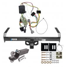 "Reese Trailer Tow Hitch For 98-04 Nissan Frontier Complete Package w/ Wiring and 2"" Ball"