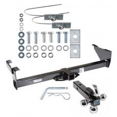 "Reese Trailer Tow Hitch Receiver For 87-95 Nissan Pathfinder w/Tri-Ball Triple Ball 1-7/8"" 2"" 2-5/16"""