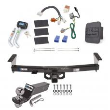 "Reese Trailer Tow Hitch For 05-20 Nissan Frontier 09-12 Suzuki Equator Deluxe Package Wiring 2"" Ball and Lock"