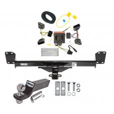 "Reese Trailer Tow Hitch For 04-10 Volkswagen Touareg Complete Package w/ Wiring and 2"" Ball"
