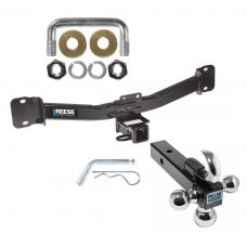 "Reese Trailer Tow Hitch Receiver For 04-10 BMW X3 w/Tri-Ball Triple Ball 1-7/8"" 2"" 2-5/16"""