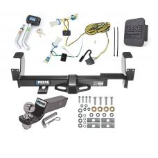 "Reese Trailer Tow Hitch For 02-07 Buick Rendezvous 01-05 Pontiac Aztek Deluxe Package Wiring 2"" Ball and Lock"