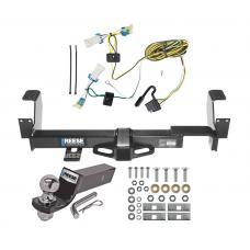 "Reese Trailer Tow Hitch For 02-07 Buick Rendezvous 01-05 Pontiac Aztek Complete Package w/ Wiring and 2"" Ball"