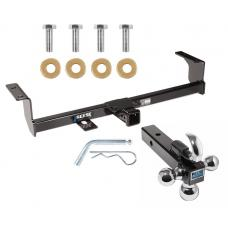 "Reese Trailer Tow Hitch Receiver For 06-13 Suzuki Grand Vitara w/Tri-Ball Triple Ball 1-7/8"" 2"" 2-5/16"""