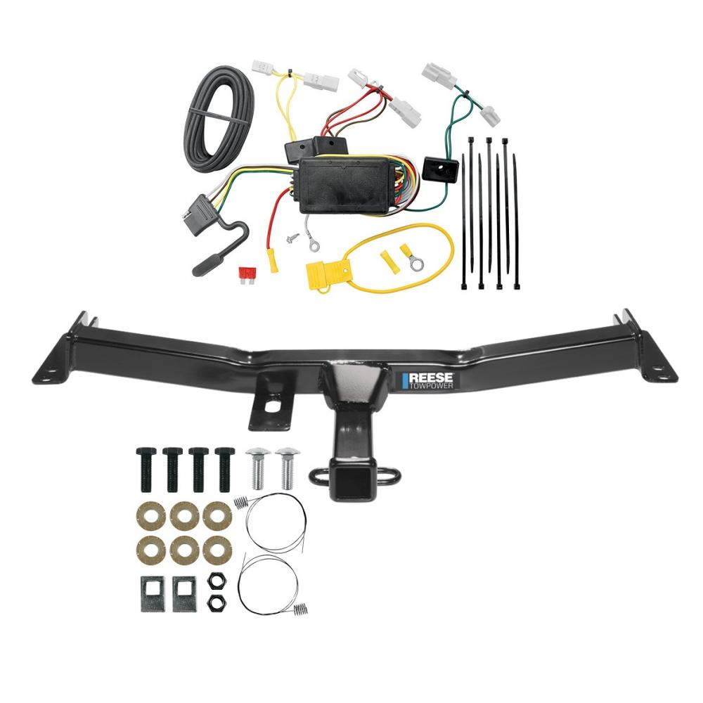 reese trailer tow hitch for 07-14 toyota fj cruiser w/ wiring ...  trailer jack