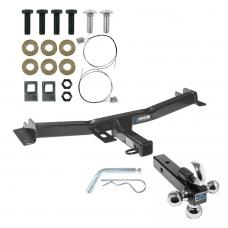 "Reese Trailer Tow Hitch Receiver For 07-14 Toyota FJ Cruiser w/Tri-Ball Triple Ball 1-7/8"" 2"" 2-5/16"""