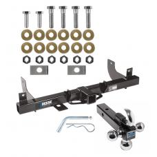 """Reese Trailer Tow Hitch Receiver For 06-08 Ford F-150 Lincoln Mark LT w/Tri-Ball Triple Ball 1-7/8"""" 2"""" 2-5/16"""""""