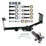 """Reese Trailer Tow Hitch Receiver For 07-19 Toyota Tundra w/Tri-Ball Triple Ball 1-7/8"""" 2"""" 2-5/16"""""""