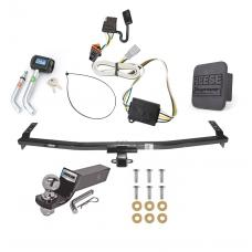 "Reese Trailer Tow Hitch For 03-08 Honda Pilot 01-06 Acura MDX Deluxe Package Wiring 2"" Ball and Lock"