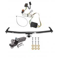 "Reese Trailer Tow Hitch For 03-08 Honda Pilot 01-06 Acura MDX Complete Package w/ Wiring and 2"" Ball"