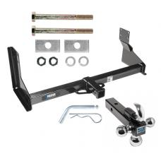 "Reese Trailer Tow Hitch Receiver For 07-17 Dodge Freightliner Mercedes-Benz Sprinter 2500 3500 w/Factory Step Bumper w/Tri-Ball Triple Ball 1-7/8"" 2"" 2-5/16"""
