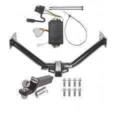 "Reese Trailer Tow Hitch For 07-13 Acura MDX without Full Size Spare Complete Package w/ Wiring and 2"" Ball"