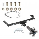 "Reese Trailer Tow Hitch Receiver For 09-14 Nissan Murano w/o Aero Kit or CrossCab w/Tri-Ball Triple Ball 1-7/8"" 2"" 2-5/16"""