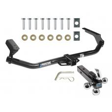 """Reese Trailer Tow Hitch Receiver For 09-16 Toyota Venza w/Tri-Ball Triple Ball 1-7/8"""" 2"""" 2-5/16"""""""