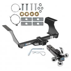 "Reese Trailer Tow Hitch Receiver For 09-13 Subaru Forester w/Tri-Ball Triple Ball 1-7/8"" 2"" 2-5/16"""