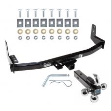 "Reese Trailer Tow Hitch Receiver For 97-02 Ford Expedition 98-02 Lincoln Navigator w/Tri-Ball Triple Ball 1-7/8"" 2"" 2-5/16"""