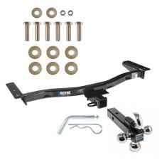 "Reese Trailer Tow Hitch Receiver For 10-15 Lexus RX350 RX450h w/Tri-Ball Triple Ball 1-7/8"" 2"" 2-5/16"""