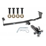 "Reese Trailer Tow Hitch Receiver For 11-13 Kia Sorento 10-12 Hyundai Santa Fe w/Tri-Ball Triple Ball 1-7/8"" 2"" 2-5/16"""
