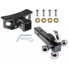 "Reese Trailer Tow Hitch Receiver For 10-19 Lexus GX460 w/Tri-Ball Triple Ball 1-7/8"" 2"" 2-5/16"""