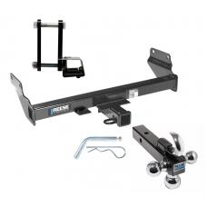 "Reese Trailer Tow Hitch Receiver For 11-19 Jeep Grand Cherokee WK2 w/Tri-Ball Triple Ball 1-7/8"" 2"" 2-5/16"""