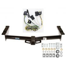 Reese Trailer Tow Hitch For 95-02 Ford Van E150 E250 E350 w/ Wiring Harness Kit