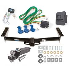"Reese Trailer Tow Hitch For 75-91 03-07 Ford Van E100 E150 E250 E350 Deluxe Package Wiring 2"" Ball and Lock"