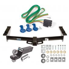 "Reese Trailer Tow Hitch For 75-91 03-07 Ford Van E100 E150 E250 E350 Complete Package w/ Wiring and 2"" Ball"