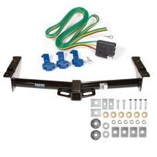 Reese Trailer Tow Hitch For 75-91 03-07 Ford Van E100 E150 E250 E350 w/ Wiring Harness Kit