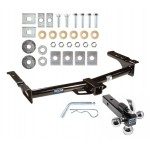 "Reese Trailer Tow Hitch Receiver For 75-14 Ford E150 E250 E350 Van w/Tri-Ball Triple Ball 1-7/8"" 2"" 2-5/16"""