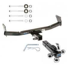 "Reese Trailer Tow Hitch Receiver For 07-17 Jeep Compass Jeep Patriot w/Tri-Ball Triple Ball 1-7/8"" 2"" 2-5/16"""